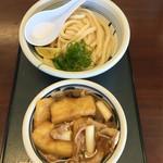 49296714 - 利八(リハチ)(茨城県水戸市見和)肉汁うどん(並)650円