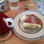 小さな紅茶屋さん crann - デザートセット(アイリッシュアップルケーキ)