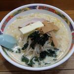 味の札幌 - 味噌カレー牛乳ラーメン