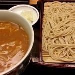 赤坂見附長寿庵 - カレーせいろ 2016.3