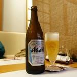 おん - ドリンク写真:ビールはスードラ中瓶でした