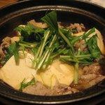すず音 - 肉豆ふ/800円