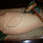 Power Dish 松五郎 - 松五郎特選コース 鯛の塩釜焼き