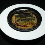 Power Dish 松五郎 - 旬さんまと米ナスのパン粉焼き