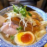 麺や 一晃亭 - 追い煮干し中華(細麺)(2016年3月)