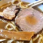 麺や 一晃亭 - 追い煮干し中華(太麺)(2016年3月)