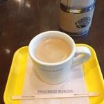 フレッシュネスバーガー - コーヒー