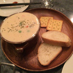 欧風屋 - 最近人気のクラムチャウダー! 本場のアメリカで食べるより美味い!