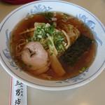 三男坊 - 料理写真:醤油ラーメン