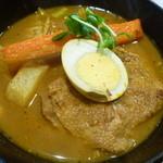 スープカレー 米KURA - 骨なしチキンのスープカレー