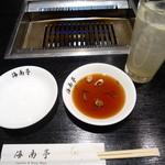 海南亭 - 料理写真:生グレフルハイ