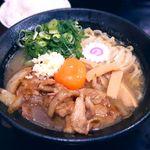 肉玉そば おとど - 肉玉そば¥700 2016.3.29