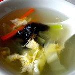 上海美食 - スープです