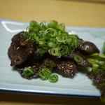 吉位寿司 - 鯨のショウガ焼き