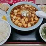 中華酒菜杜華 - 料理写真:麻婆豆腐定食 780円