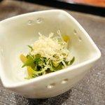 祥雲 - 花山葵の醤油漬け
