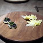 サーモンアンドトラウト - マジョラムのサブレ 生姜のチップス