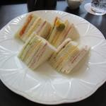 カフェ シャポー - ミックスサンドイッチ 1150円