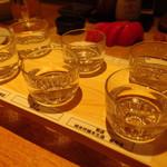 かよひ路 - 飲み比べ6種(2016/3)