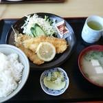 ふじ - 魚フライ定食600円