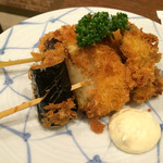 呑み食い処・宗次郎 - 野菜串揚げ
