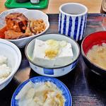 やまだや - 角煮定食  2016/03/31