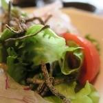 鉄板焼 RURI - サラダです