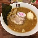 煮干しラーメン玉五郎 六代目 - 味玉煮干し
