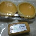 ピロチュン - タルト、パイナップルケーキ