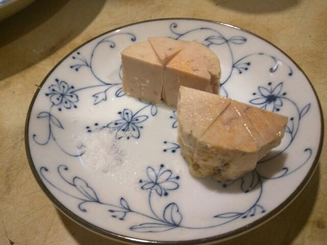 天史朗寿司 - あん肝 塩だけで