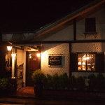 コーヒーハウス葡萄畑 - 夜の外観も雰囲気最高です。