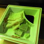 きた山 - 京湯葉、生麩の刺身