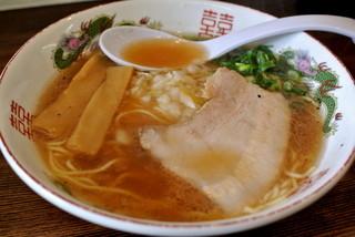 べんけい - べんけい・牛骨ラーメン醤油¥650(2016.04)