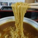 三忠食堂 - とろみのスープが麺に絡みます♪