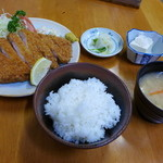 49321880 - ロースカツ定食(1,000円)