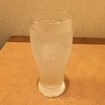 長久鮨 - レモンサワー(350円)