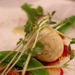49325488 - ●お魚料理 北海道産帆立ムースのヴァプール