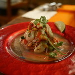 ラ・コシーナ・ガブリエラ・メヒカーナ - 新鮮な魚介で作る本日のセビーチェ ライム風味