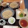 蕎麦遊膳 花吉辰 - 料理写真:鴨、車海老天、せいろ
