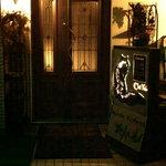 シャノアール - シャノアールの入口。少しわかりにくいです。猫の看板が目印。