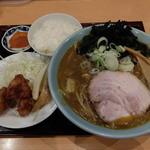 ふじ亭 - カレーラーメン+Aセット
