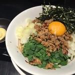 麺家 德 - トッピングにマヨネーズ!