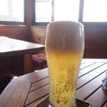 地元産天然お魚とアジアごはん アイワナドゥ 岩戸 - 生ビール 550円