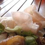 地元産天然お魚とアジアごはん アイワナドゥ 岩戸 - えびせん
