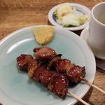 やきとりの一平 中島本店 - 焼き鳥 豚 タン、ハツ