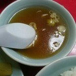 俵屋飯店 - スープ