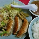 俵屋飯店 - 料理写真:Bランチ(税込み630円)
