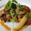 サンローヤル - 料理写真:メインメニューである、チキンの香草パン粉焼き
