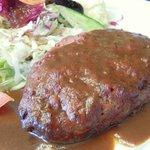 レストラン141 - 黒毛和牛(A5)100%ハンバーグ