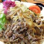 レストラン141 - 黒毛和牛の生姜焼き